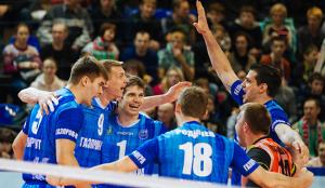 волейбол «Локомотив» «Газпром-Югра»