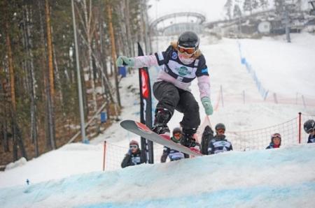 Сноубордисты Ханты-Мансийска