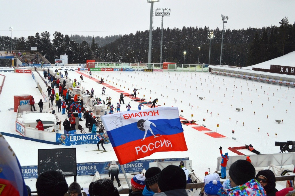 Ханты-Мансийск биатлон