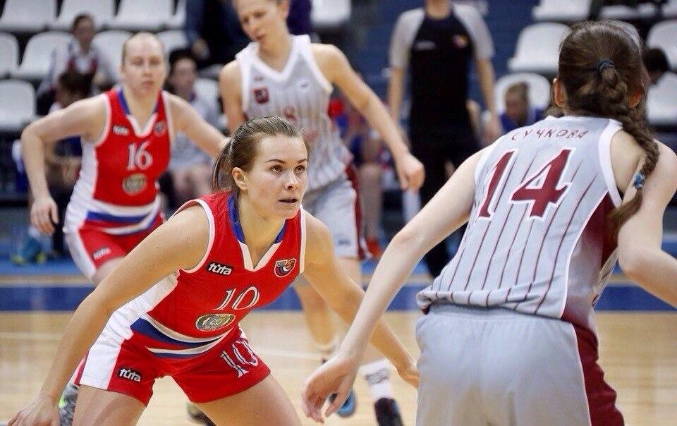 Алиса Колчинцева - лучший разыгрывающий СурГУ (Сургут)