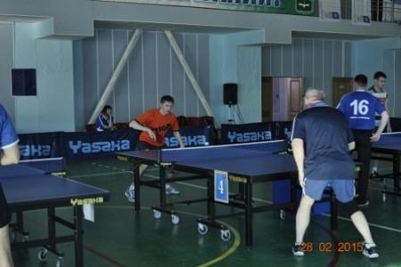 турнир по настольному теннису Ханты-Мансийск