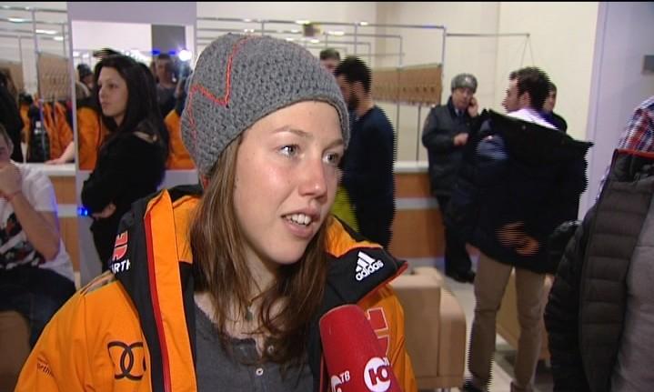 Биатлонистка Лаура Дальмаер в Ханты-Мансийске