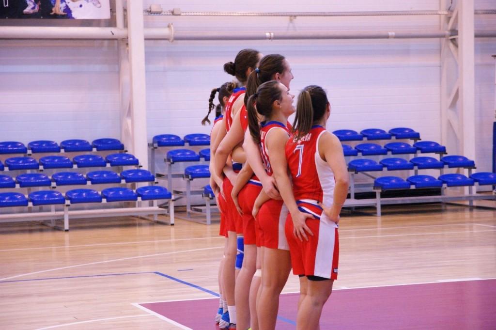 Баскетболистки СурГУ девушки