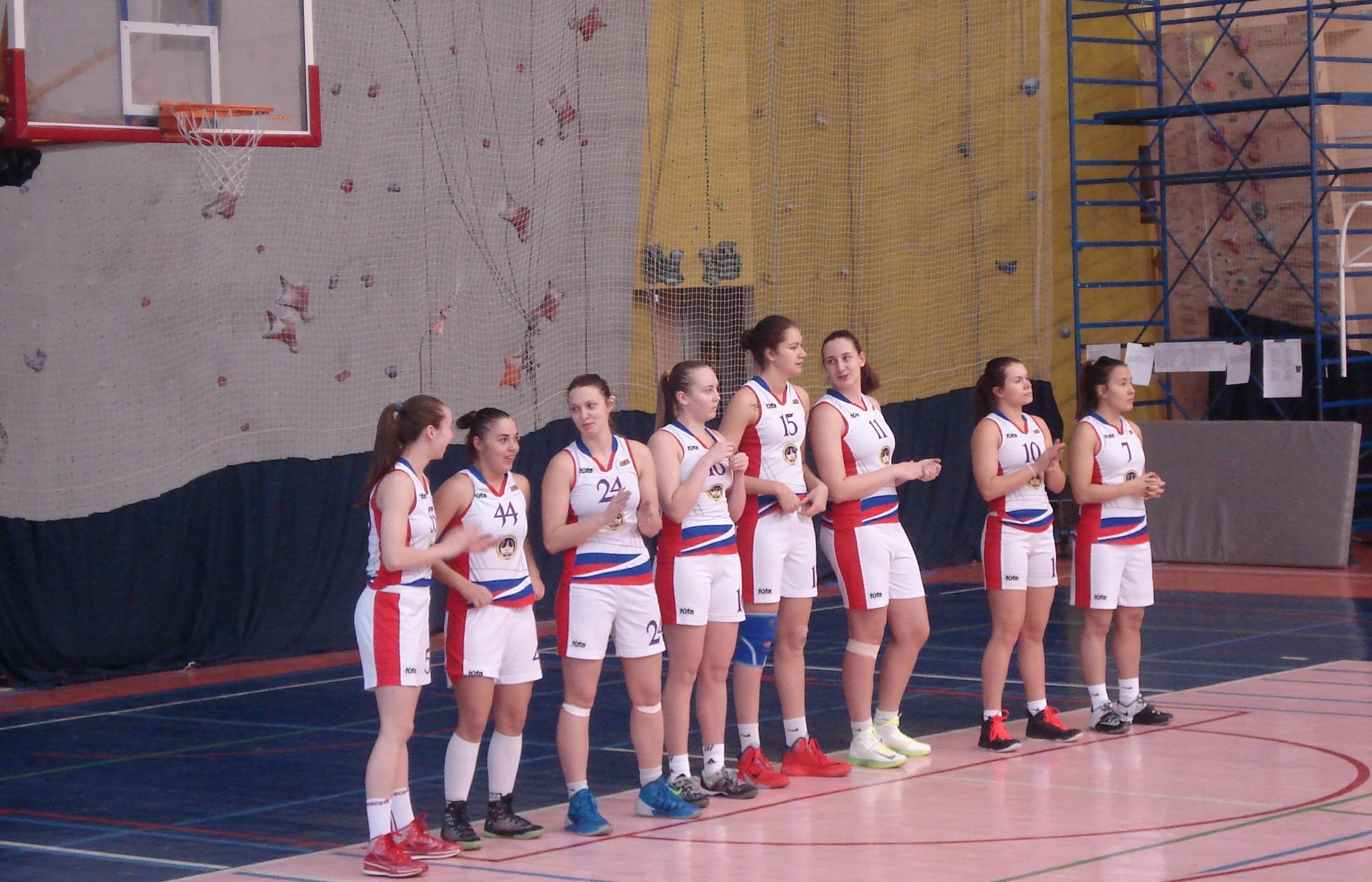 Баскетболистки Сургутского государственного университета