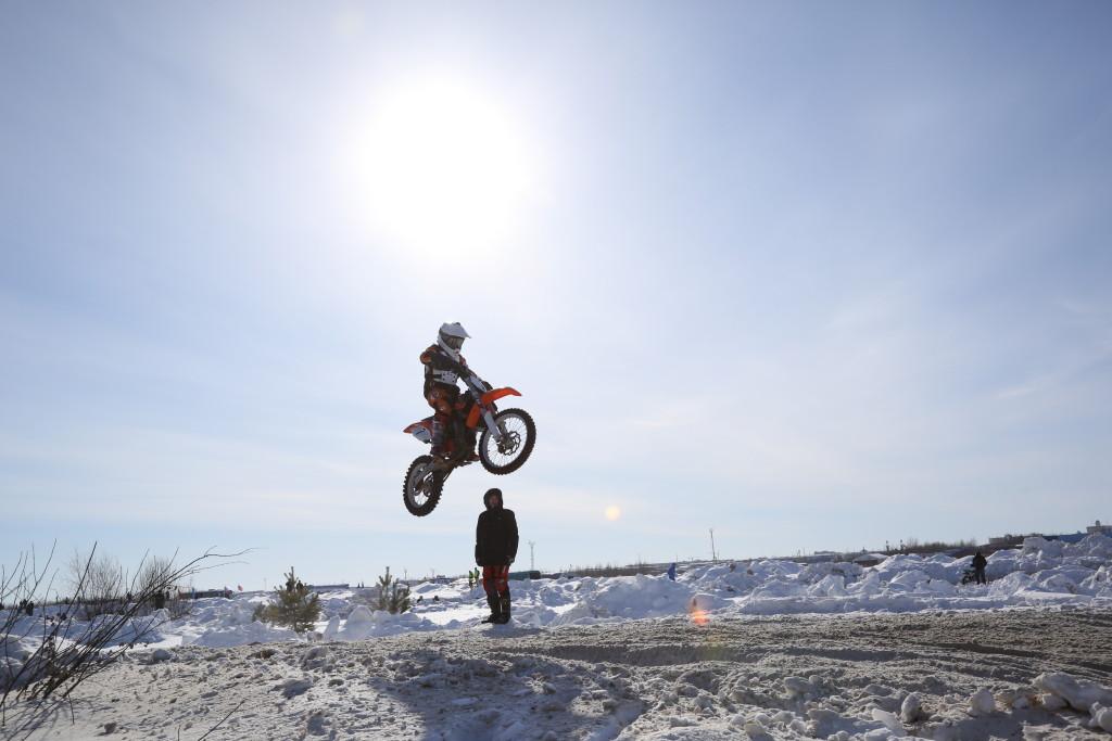 первый этап открытого Зимнего Кубка Югры по мотокроссу