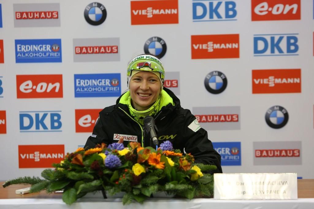 Дарья Домрачева (1-е место