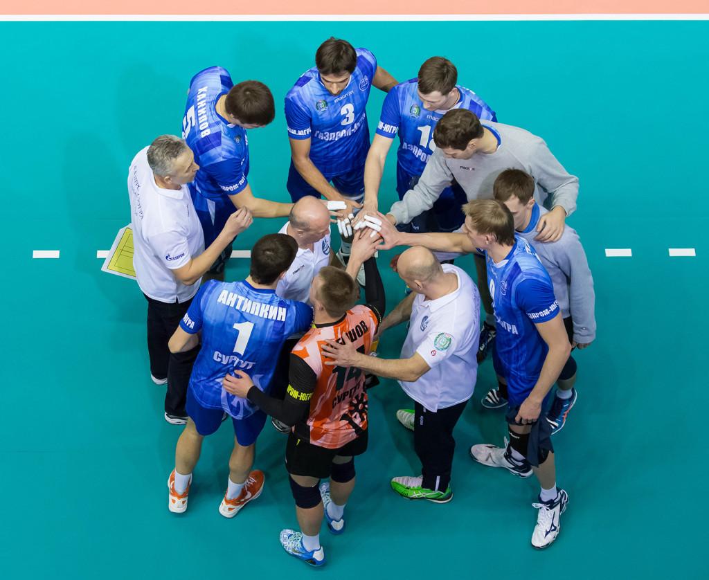 Газпром Югра волейболисты