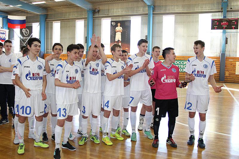 Газпром-Югра мини-футбол юноши