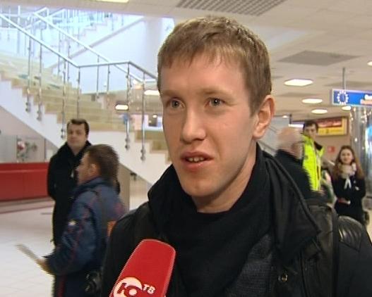Алексей Волков в Ханты-Мансийске