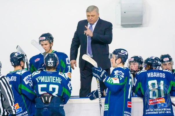 Павел Езовских тренер Мамонтов Югры Ханты-Мансисйк