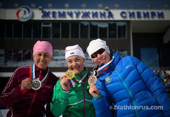 чемпионат России по биатлону 2015