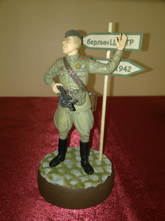 Модель советского солдата времен войны