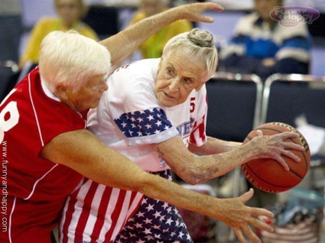 Баскетбол бабушки
