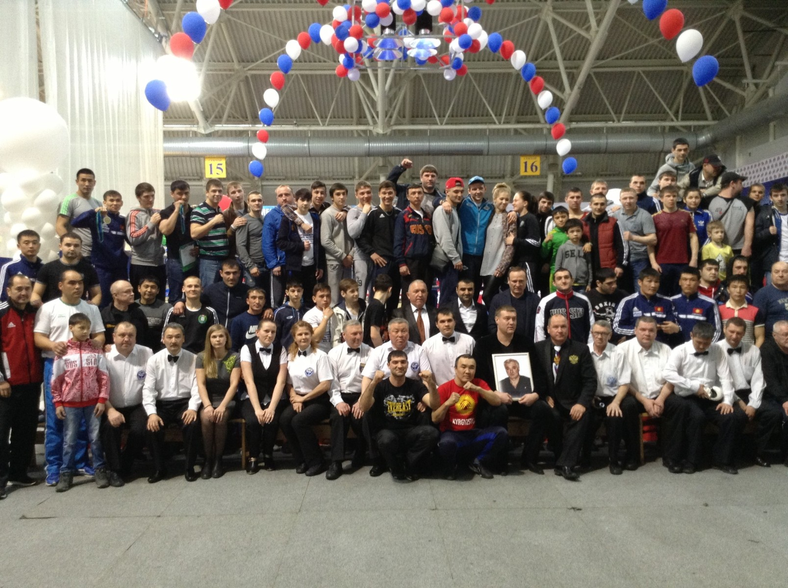 Участники турнира памяти Павла Малаховского 2015 в Сургуте
