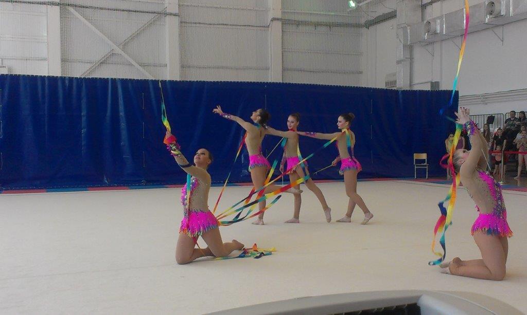 Художественная гимнастика в городе Сургуте