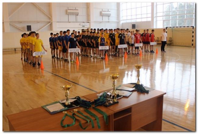 чемпионат по волейболу среди учащихся ХМАО-Югры