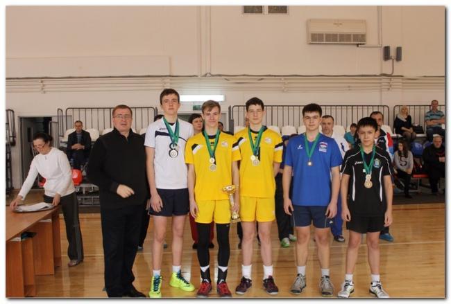 первенство ХМАО-Югры по волейболу среди юношей