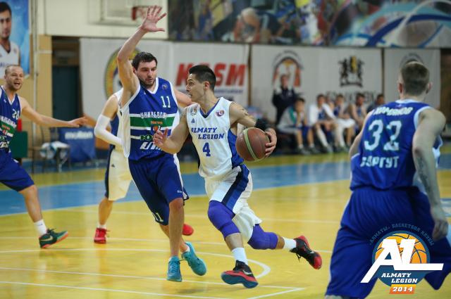 Алматинский легион - Университет-Югра плей-офф