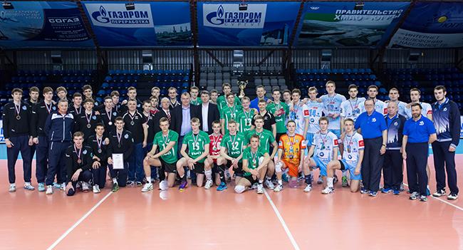 Призеры и участники Кубка Молодежной волейбольной лиги
