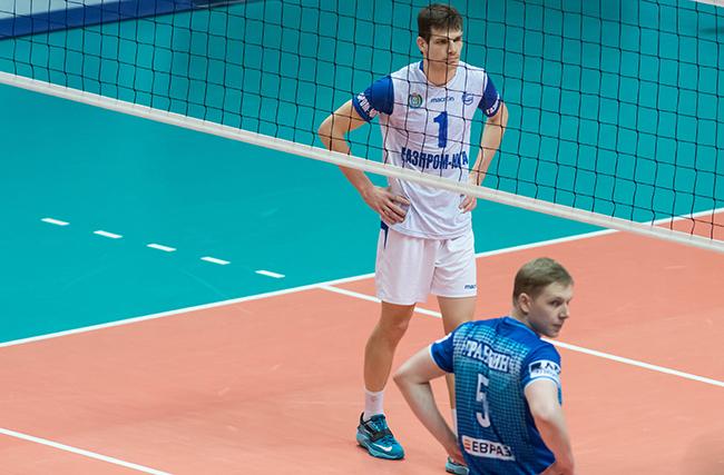 Динамо - Газпром-Югра 3:0 первый матч в Москве