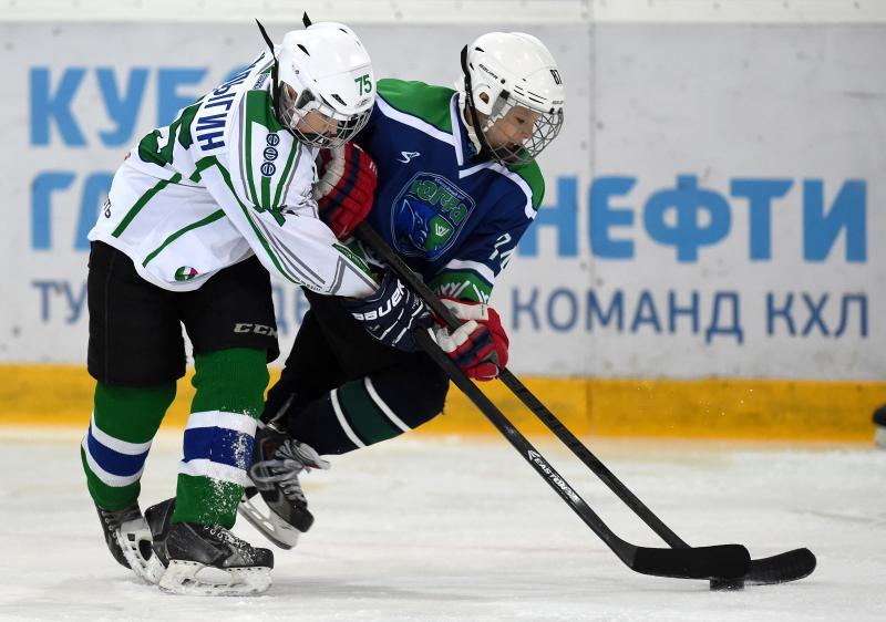 """Матч """"Салават Юлаев""""-""""Югра"""" (6:3)"""