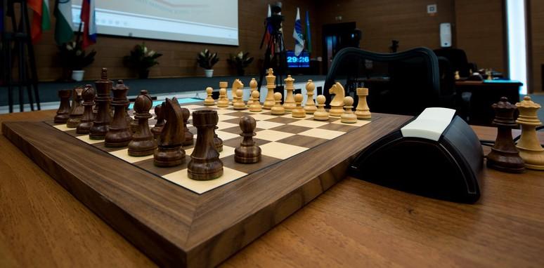 Фото шахматной доски