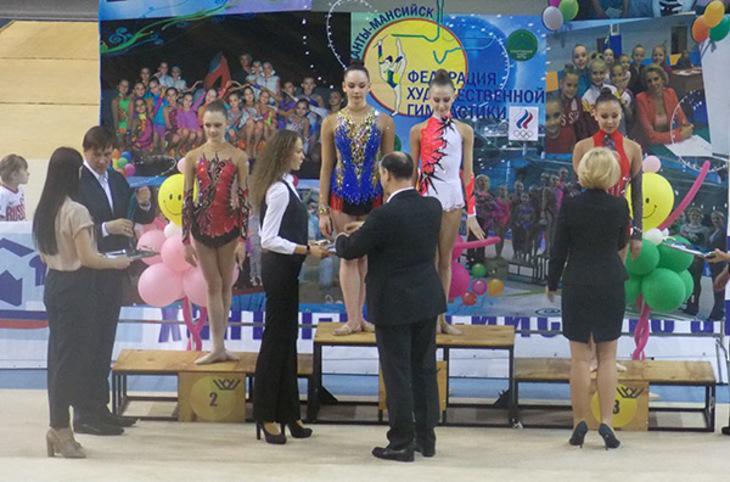 Награждение гимнастика Ханты-Мансийск