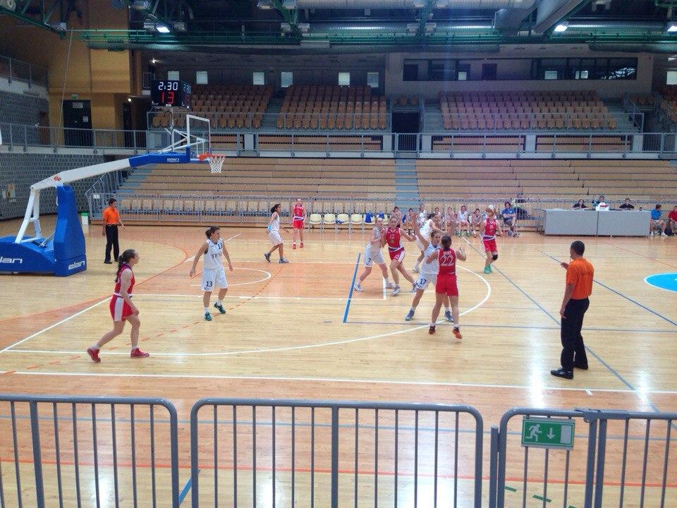 СурГУ девушки на чемпионате Европы среди Вузов