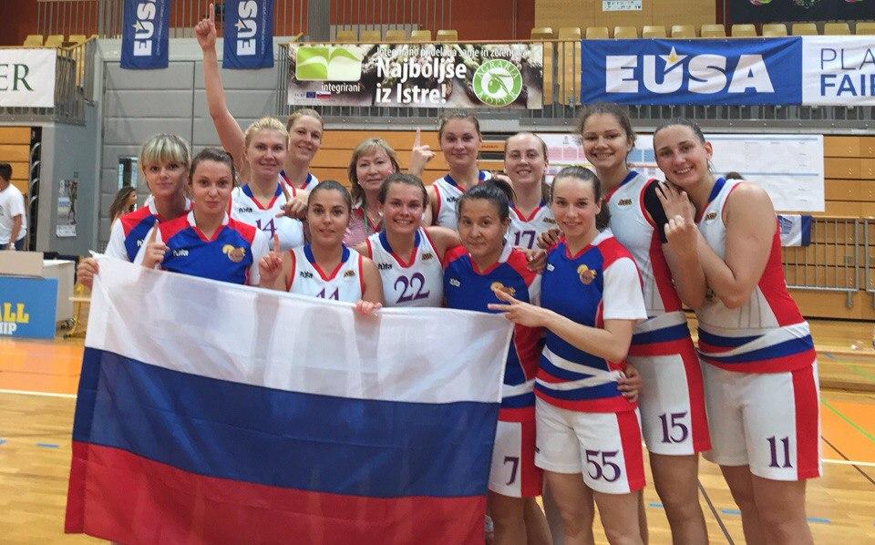 СурГУ команда баскетболисток