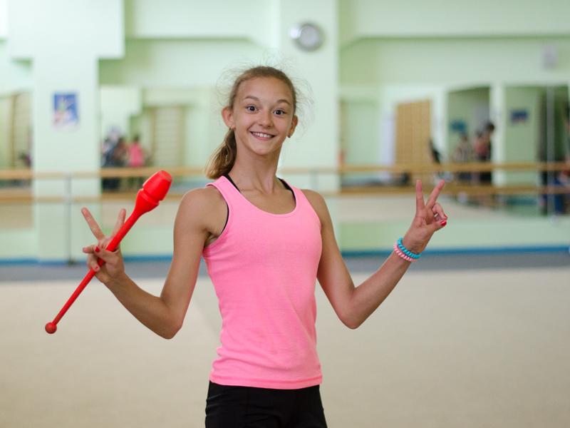 Евгения Гренц гимнастка ХМАО