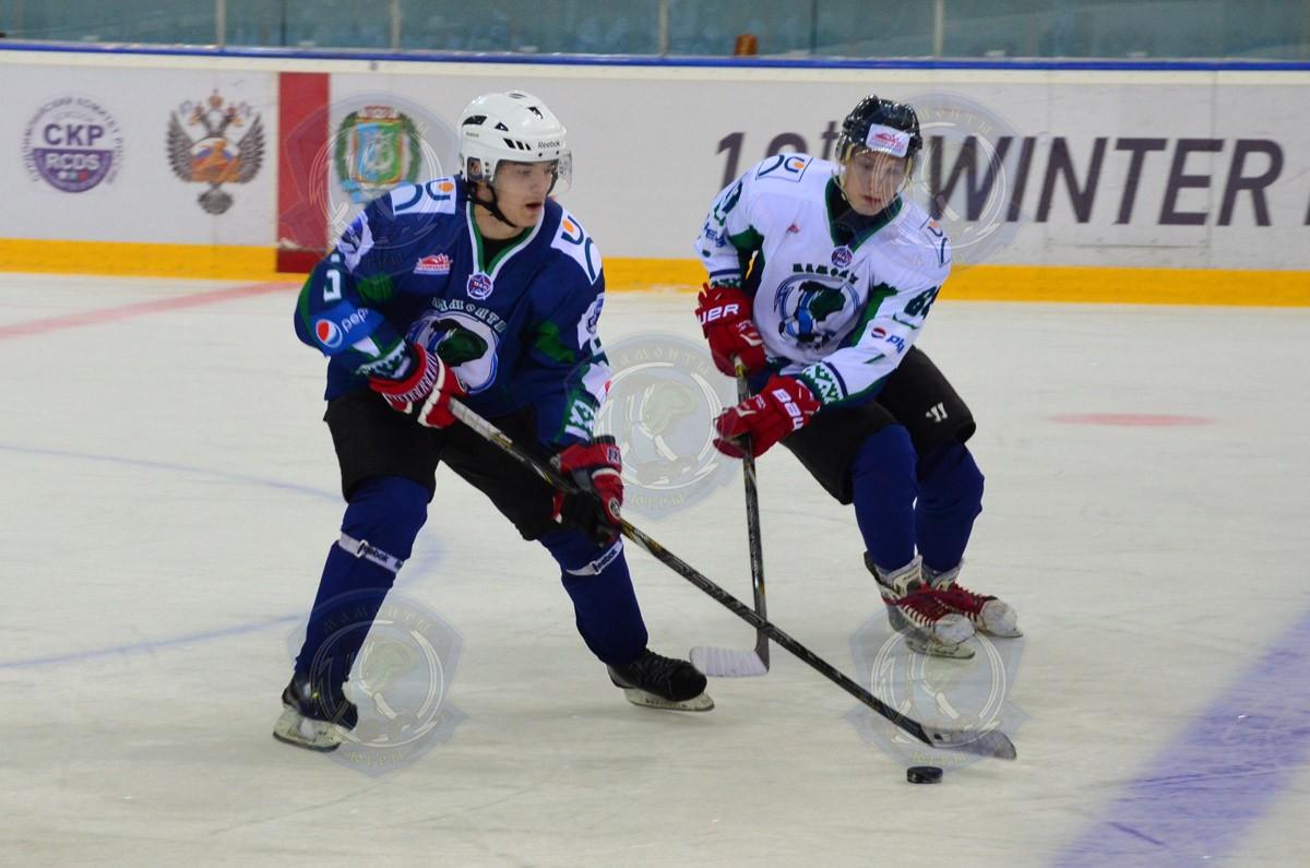 Тренировка хоккейного клуба Мамонты ЮГры