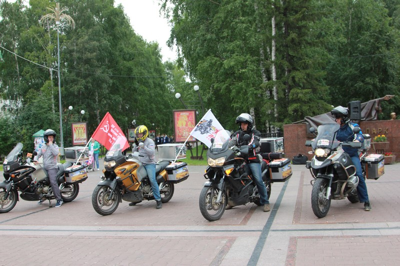 Мотопробег «Победа в каждом из нас» Ханты-Мансийск