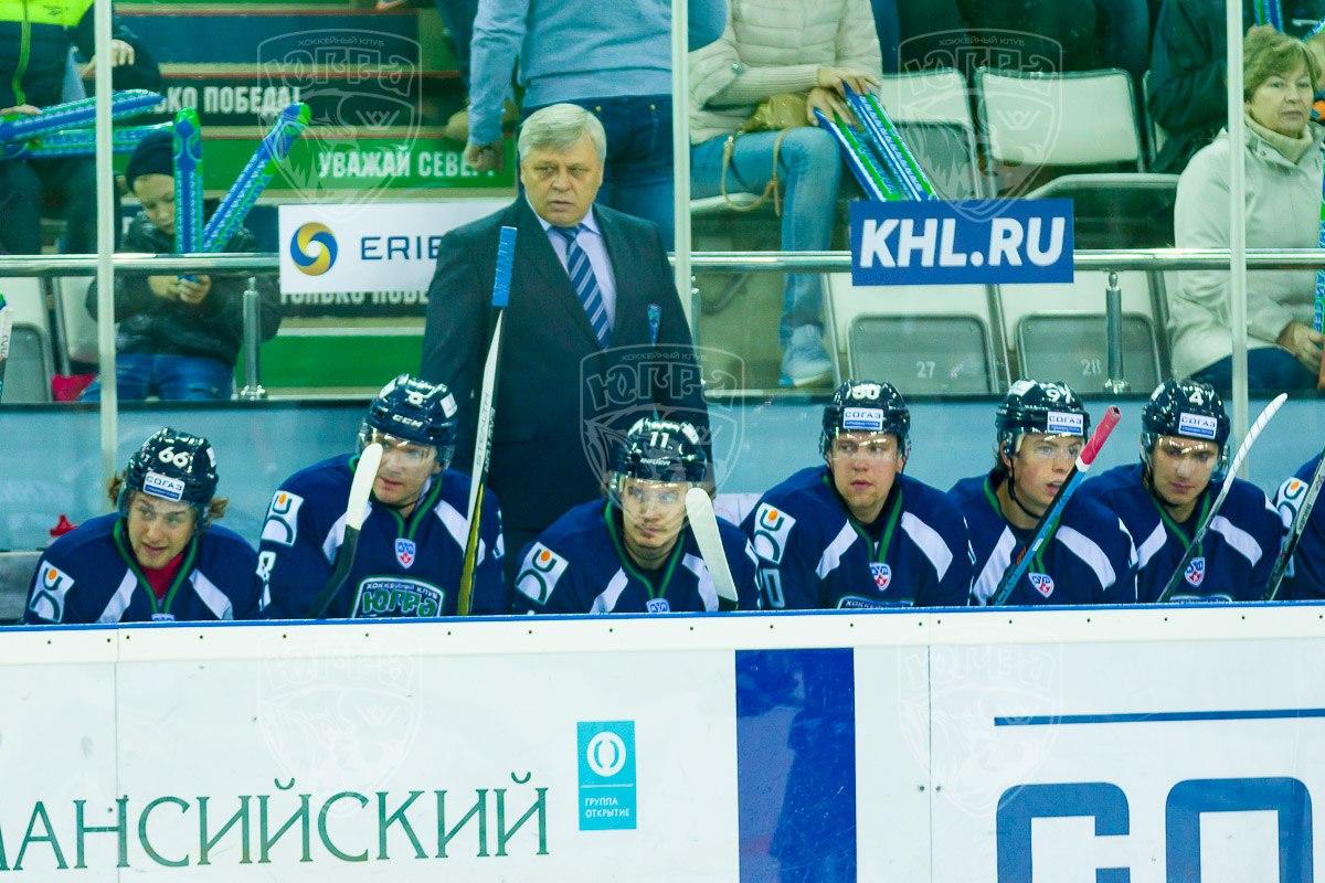Павел Езовских тренер Югры в сезоне 2015-2016