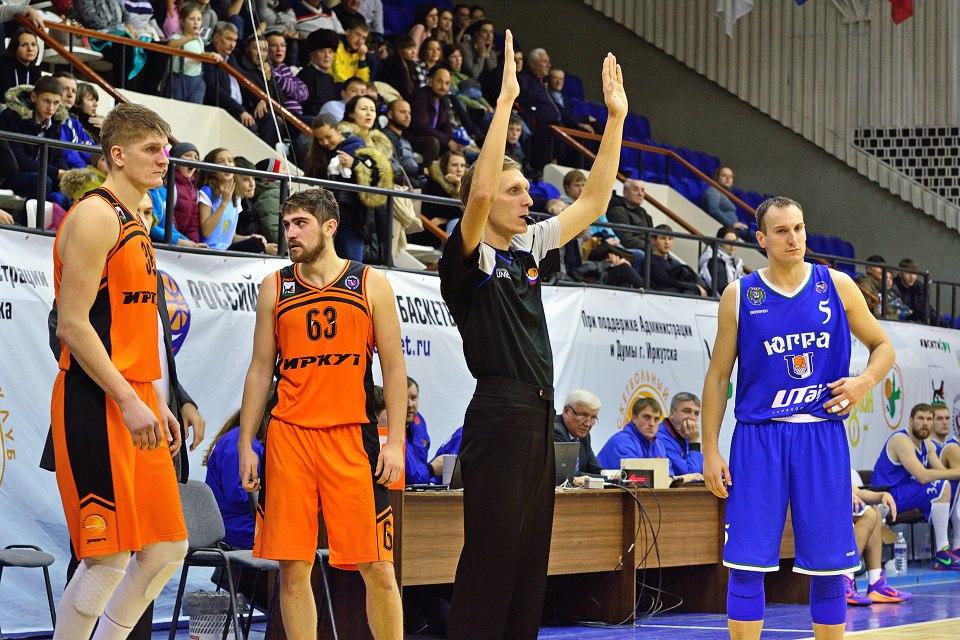 Никола Лепоевич в матче с Иркутом