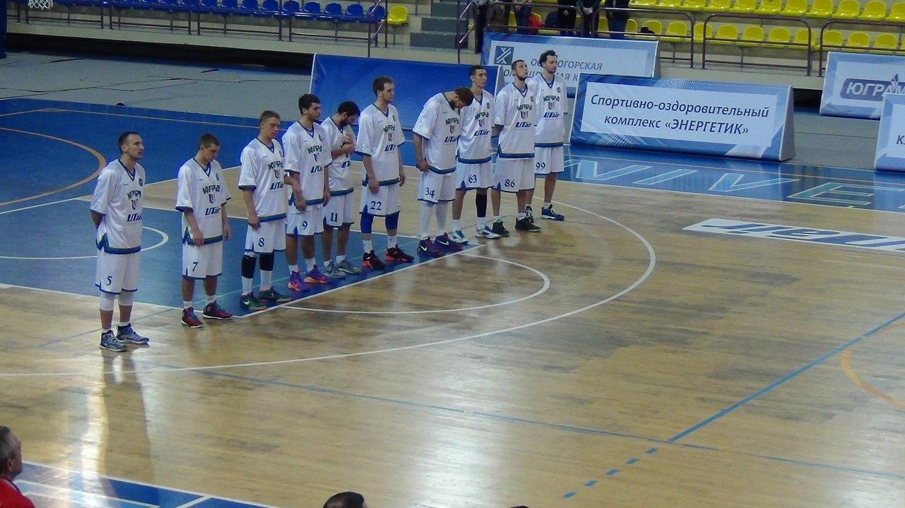 Фото БК Университет-Югра Сургут сезона 2015-2016