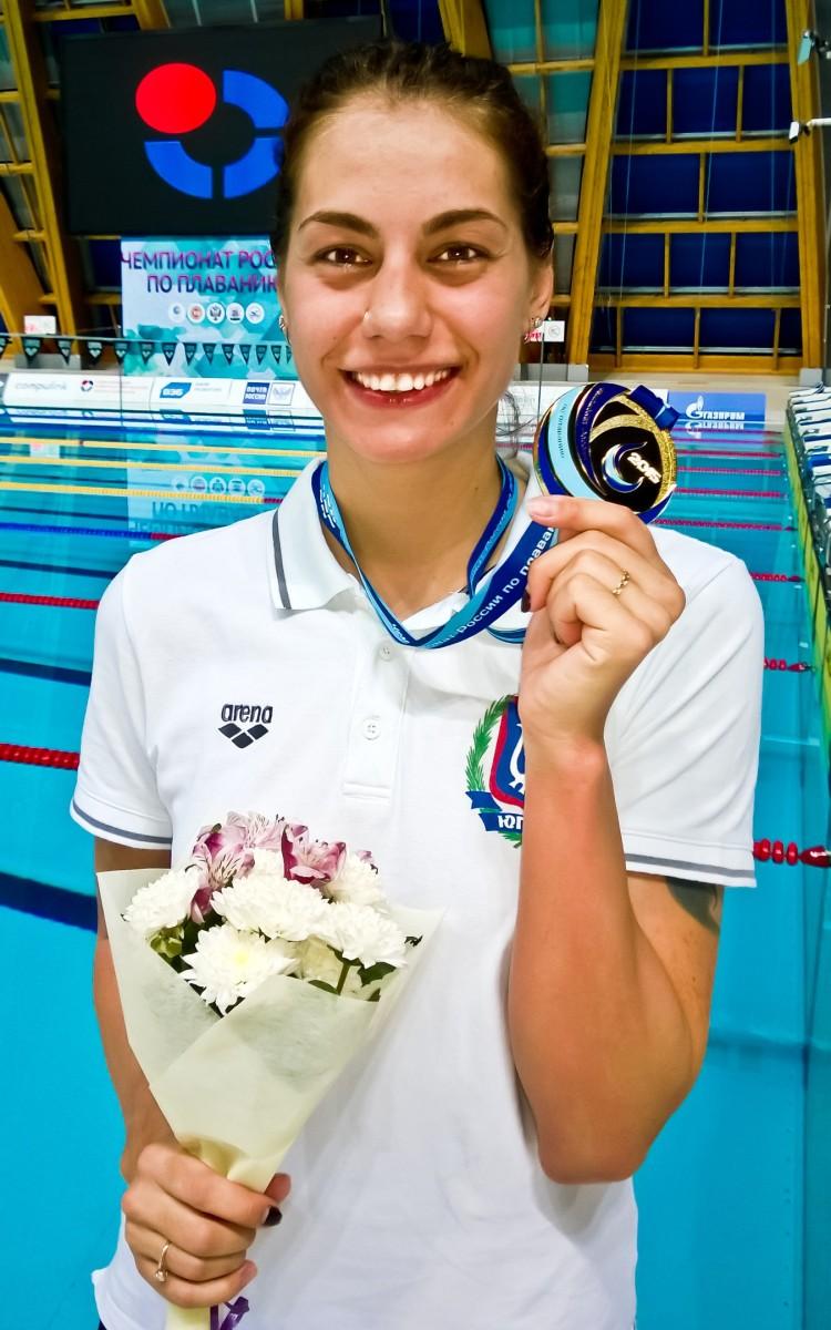 Кристина Вершинина пловчиха из ХМАО-Югры