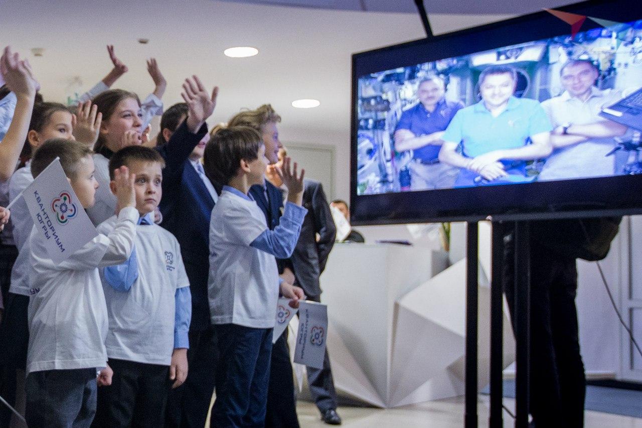Окрытие десткого технопарка в Ханты-Мансийске