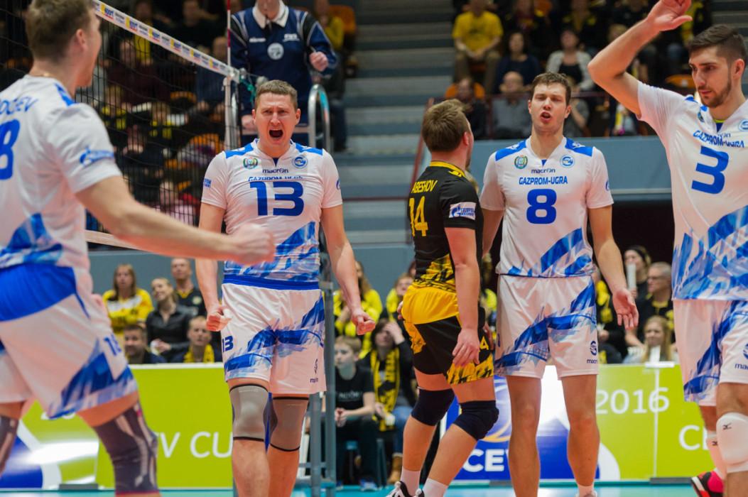 Волейбольный клуб Газпром-Югра побеждает