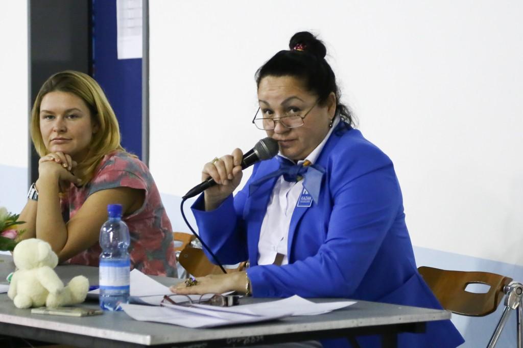 судья чемпионата Светлана Ахмедова