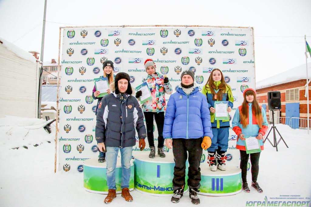 сноубордисты ХМАО