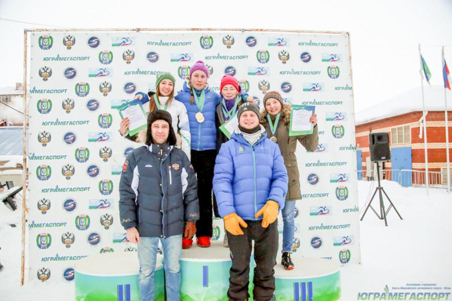 сноубордистки