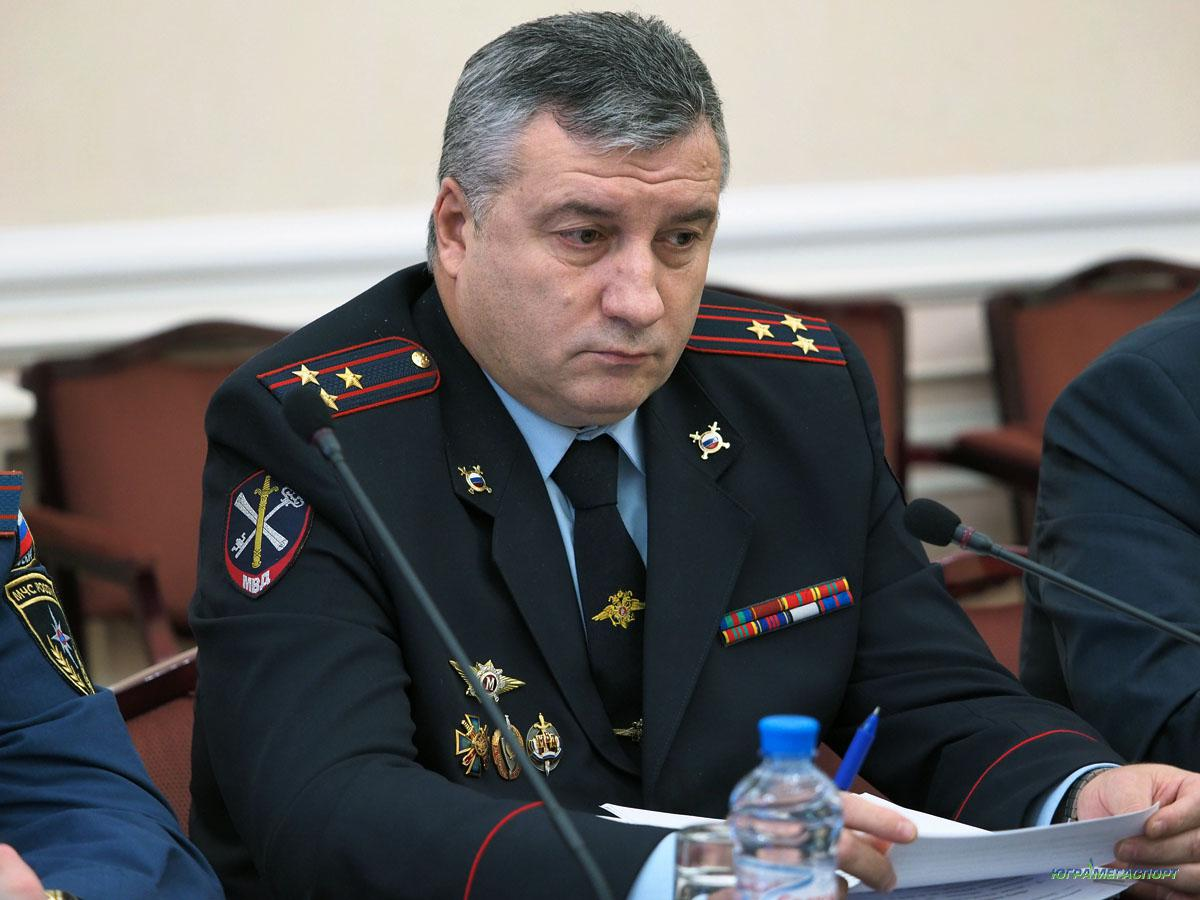 ВрИО УМВД России по Югре Александр Беспалов