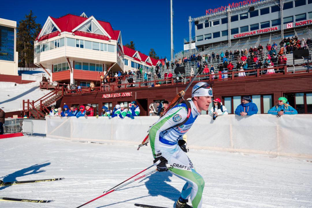 Биатлонисты в центре зимних видов спорта Александра Филипенко
