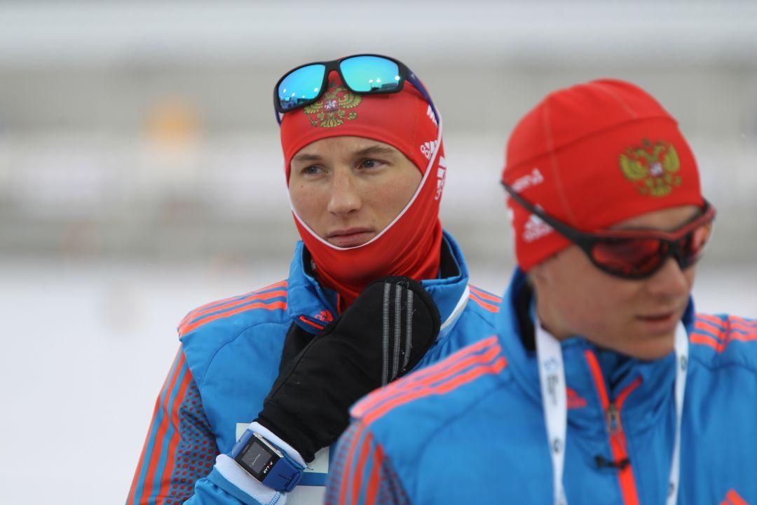 Дмитрий Малышко и Евгений Гараничев на тренировке в Ханты-Мансийске