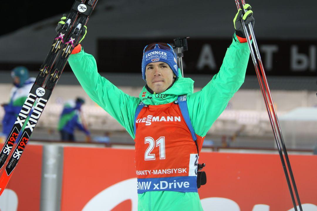 Симон Шемп биатлонист из Германии