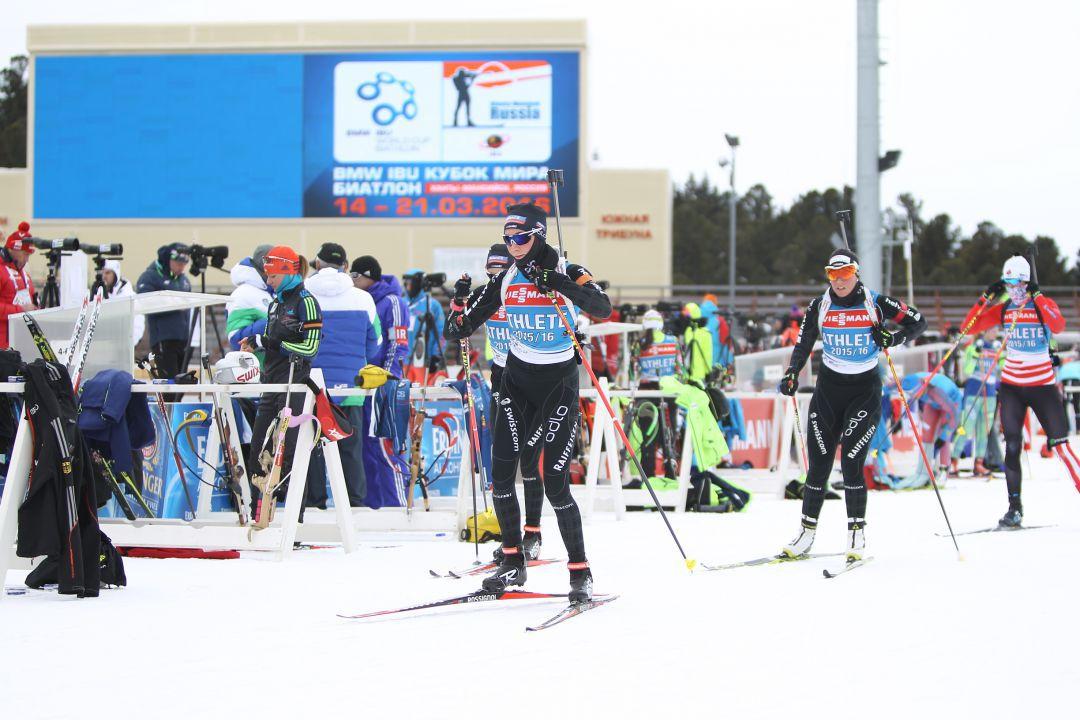 лыжная подготовка биатлонистов