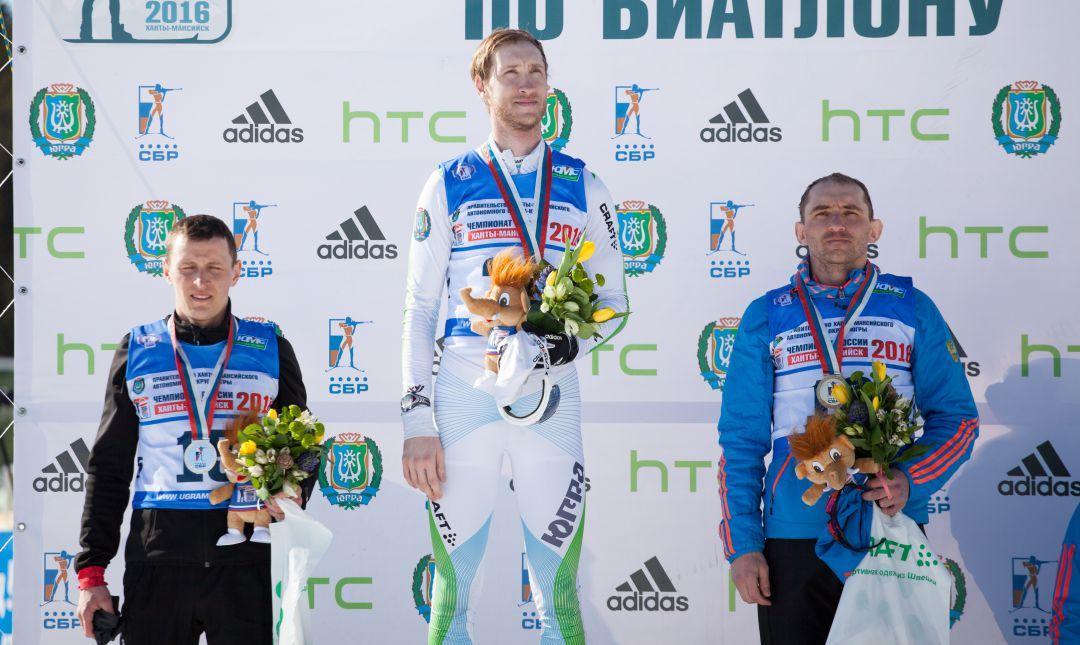 Евгений Боярских выиграл масс-старт