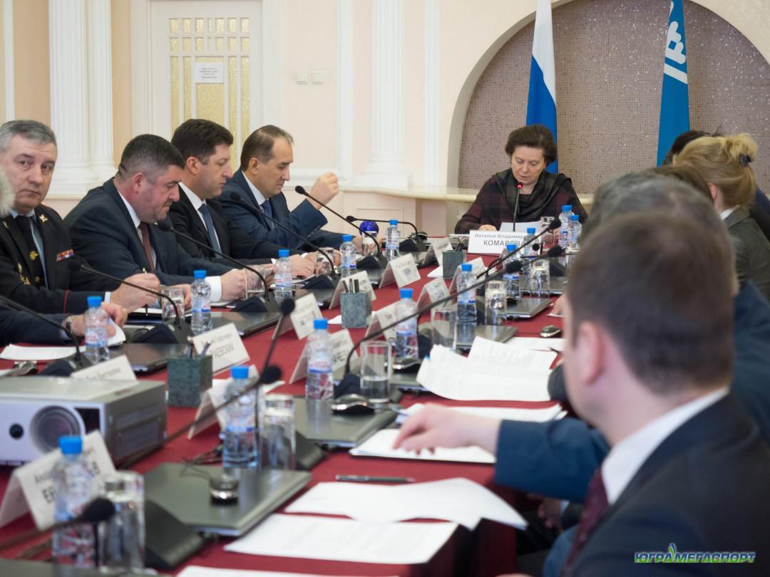 Заседание правительства ХМАО