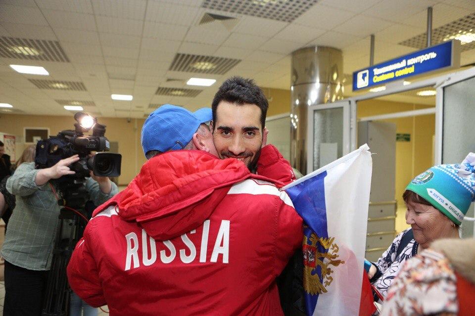 Встреча Мартена Фуркада в аэропорту Ханты-Мансийска