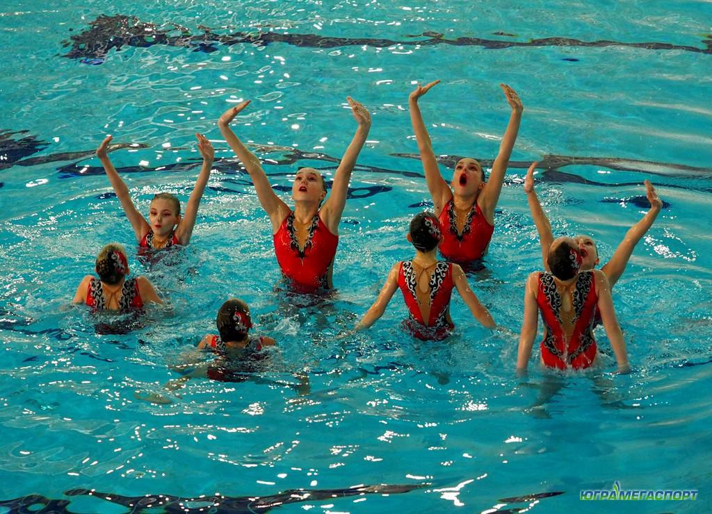 Синхронное плавание в ХМАО